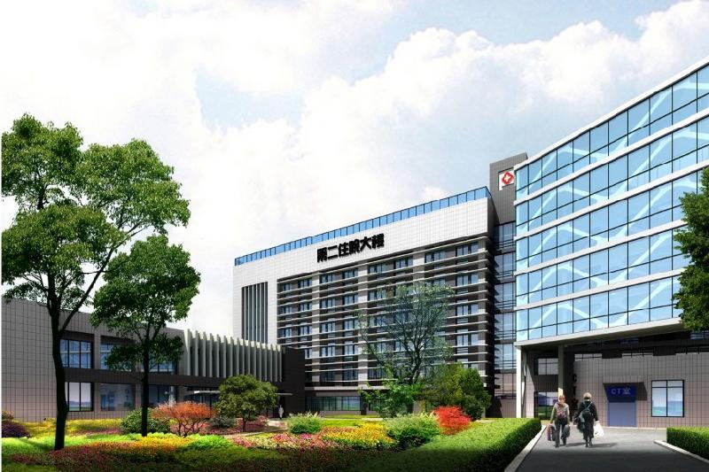 恺德医院第二住院大楼效果
